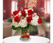 Beach City Florist  Snowcapped Roses  in San Clemente CA, Beach City Florist