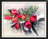 Christmas Corsage in Tyler, Texas, The Flower Box