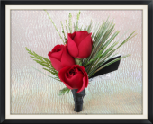 Christmas Boutonniere in Tyler, Texas, The Flower Box