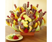 Abundant Fruit & Chocolate Tray in Homer NY, Arnold's Florist & Greenhouses & Gifts