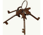 Antique Keys  in Fort Worth TX, Greenwood Florist & Gifts