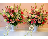 Pink Flower Gardens Collection in San Francisco, California, Fillmore Florist