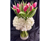 Tulips For My Love in Largo FL, Rose Garden Flowers & Gifts, Inc