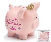Baby Girl Piggy Bank  in Smyrna GA, Floral Creations Florist