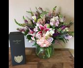 Gresham Flowers - Dom Perignon Nude - Portland Florist Shop
