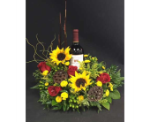 Gresham Flowers - Wine and flowers - Portland Florist Shop