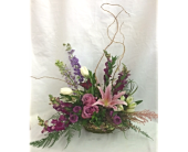 Precious Purple Basket  in Smyrna GA, Floral Creations Florist
