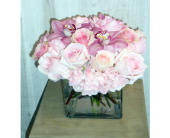 Pink on Pink in Dallas TX, Petals & Stems Florist