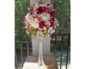 Tall Pink Centerpiece in Dacula GA, Flowers and More