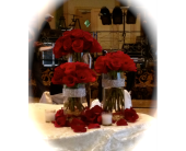 Red Center Piece in Dacula GA, Flowers and More