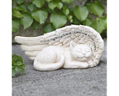 Sympathy Cat Statue  in Smyrna GA, Floral Creations Florist