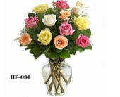 Garden Rose Bouquet in Trumbull CT, P.J.'s Garden Exchange Flower & Gift Shoppe