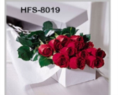 Classic 1 Dozen Long-Stemmed Roses - Red - Boxed in Westport CT, Hansen's Flower Shop & Greenhouse