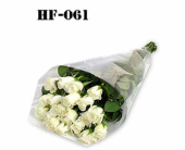 18 Roses - White - Wrapped in Cello in Trumbull CT, P.J.'s Garden Exchange Flower & Gift Shoppe