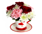 Valentine Tea Time in Nashville TN, Emma's Flowers & Gifts, Inc.
