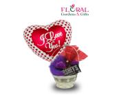 Small Plush Basket in Palm Beach Gardens FL, Floral Gardens & Gifts