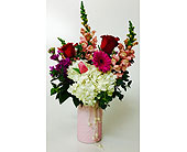 Blushing Pearls in Northfield MN, Forget-Me-Not Florist