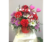 Valentine's Mixed Basket in Cleveland OH, Filer's Florist Greater Cleveland Flower Co.
