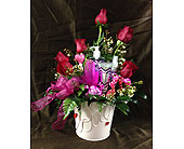 Pamper Me Bucket in Wake Forest NC, Wake Forest Florist