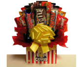 Movie Night Candy Bouquet in Coeur D'Alene ID, Hansen's Florist & Gifts