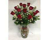 roses with charm  in Staten Island NY, Eltingville Florist Inc.