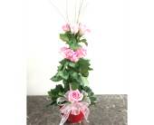 All My Love Pink Rose Topiary in Mequon WI, A Floral Affair, Inc