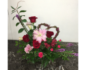 Heart of Love (Lilies) in Mequon WI, A Floral Affair, Inc