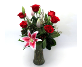 Princess Rose Arrangement in Fort Collins CO, Fort Collins Floral