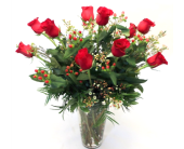 Executive Rose Arrangement in Fort Collins CO, Fort Collins Floral
