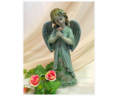 Standing Angel with Rose In Hand in Owensboro, Kentucky, Welborn's Floral Company