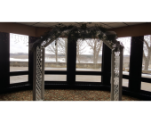 White Lattice Arch in Loudonville OH, Four Seasons Flowers & Gifts
