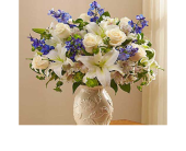 Loving Blooms Lenox Blue & White in El Cajon, California, Conroy's Flowers