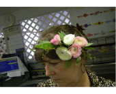 Bridal Floral Crown in Lewiston, Idaho, Stillings & Embry Florists