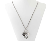 Silver Multi Heart Necklace  in Smyrna GA, Floral Creations Florist