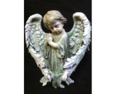 Angel With Long Wings in New Iberia, Louisiana, Breaux's Flowers & Video Productions, Inc.