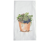 Tea Towel - Succulent Pot in Smyrna GA, Floral Creations Florist