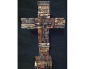 Standing Word Cross in New Iberia LA, Breaux's Flowers & Video Productions, Inc.