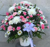 SWEET SOLACE SYMPATHY BASKET by Rubrums in Ossining NY, Rubrums Florist Ltd.