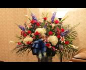 Funeral Basket 11 in Yonkers, New York, Hollywood Florist Inc