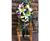 cascading bouquet in Ammon ID, Petal Passion