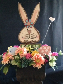 Welcome bunny in Athens OH, Jack Neal Floral