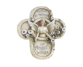 Sympathy Angel Plaque in Fort Worth TX, Greenwood Florist & Gifts