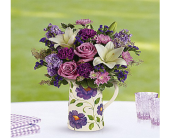 Fishers Flowers - Garden Pitcher Bouquet - George Thomas, Inc.