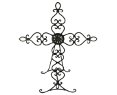 Tabletop Cross Easel in Fort Worth TX, Greenwood Florist & Gifts
