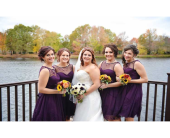 Wedding in Moorestown, New Jersey, Moorestown Flower Shoppe