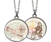Enjoy The Ride Pendant in Fort Worth TX, Greenwood Florist & Gifts