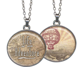 Life Is An Adventure Pendant in Fort Worth TX, Greenwood Florist & Gifts