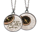 Let Your Heart Pendant in Fort Worth TX, Greenwood Florist & Gifts
