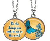 Be The Change Pendant in Fort Worth TX, Greenwood Florist & Gifts