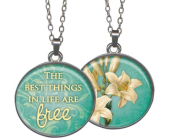 The Best Things Pendant in Fort Worth TX, Greenwood Florist & Gifts